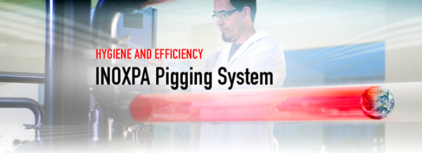 PIGGING SYSTEM - Highest hygiene and efficiency